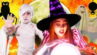 Halloween Fingers Family Song | Halloween Nursery Rhymes Song for kids and children