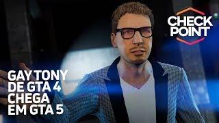GAY TONY DE GTA 4 EM GTA 5, PROMOÇÃO INCRÍVEL DA XBOX LIVE E HOT WHEELS DE MARIO KART - Checkpoint
