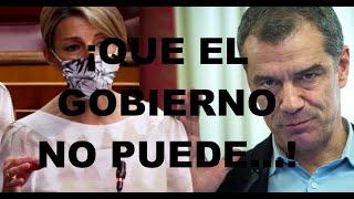 ¡UN TUIT DE TONI CANTÓ DEJA A YOLANDA DÍAZ COMO UNA IGNORANTE, INHABILITADA PARA UN MINISTERIO!