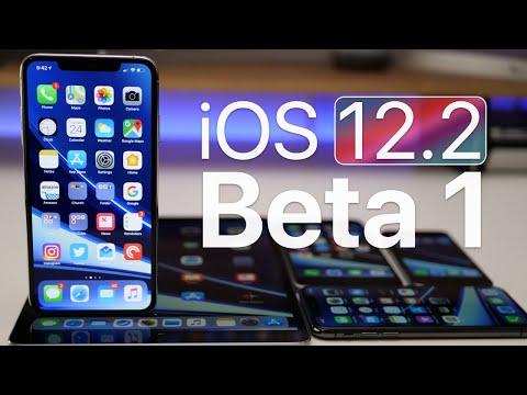 iOS 12.2 Beta 1 - What's New?