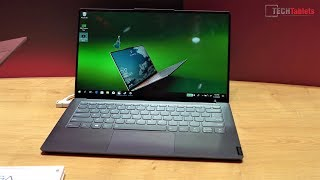 Lenovo Yoga S940 Quick Hands-On Look At MWC19