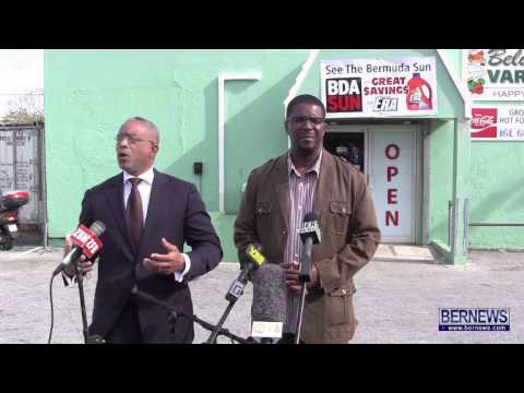 PLP MPs Michael Weeks & Rolfe Commissiong, Jan 24 2013