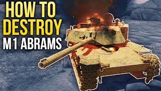 How to destroy M1 Abrams / War Thunder