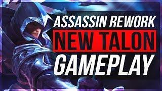 TALON BROKEN DAMAGE!! | Talon Rework Gameplay - League of Legends