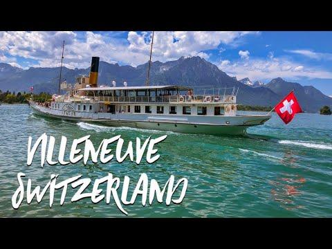 Explore Villeneuve Switzerland and Come Paragliding Above Montreux With Us!