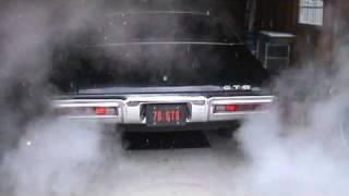 1970 GTO with Flowmaster American Thunder Exhaust