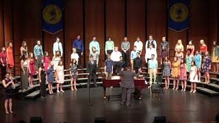 2018 PLHS Choral Awards Concert - 12 of 14 - Welcome Home