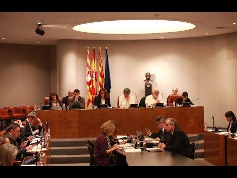 Ple Diputació de Barcelona ordinari març 2016