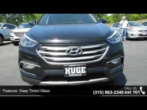 2017 Hyundai Santa Fe Sport 2 4l W Premium Package Fuc