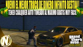 NUEVO DINERO INFINITO COCHES TUNING AL MAXIMO GRATIS!! | GTA 5 EL MEJOR TRUCO DINERO FACIL BRUTAL!