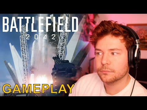 Battlefield 2042 Official Gameplay Trailer // Game Engine Dev Reacts  