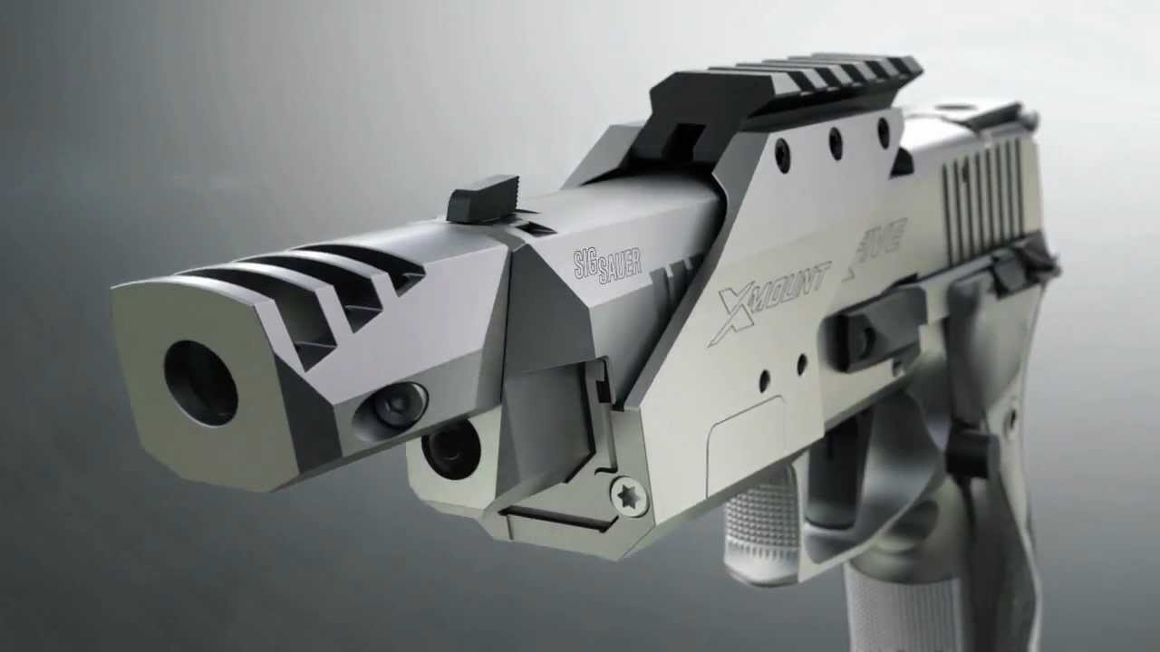 SIG Sauer X-Five Open: Race gun for IPSC competitions