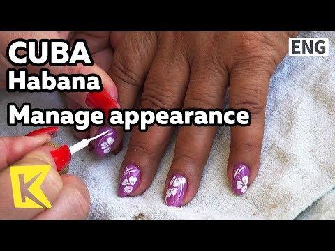 【K】Cuba Travel-Habana[쿠바 여행-아바나]외모관리를 하는 쿠바 여성/Manage appearance/Female/Breakfast/Breakfast