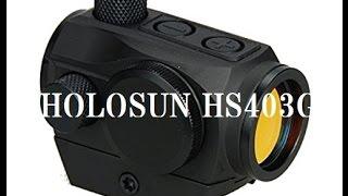 видео Прицелы Holosun Technologies