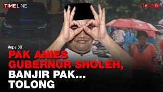 Denny Siregar: PAK ANIES GUBERNUR SHOLEH, BANJIR PAK.. TOLONG - YouTube