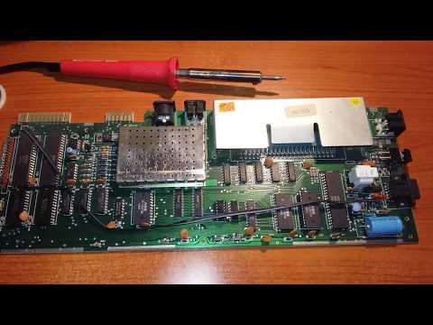 """Commodore Vic 20. """" Recupero e restauro """" 3° Parte,  Saldature e pulizia generale."""