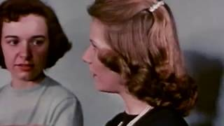 Typical Life of a Teenage Girl in High School and University (1950s)