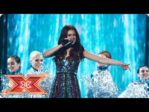 Holly Tandy sings Despacito for your votes | Live Shows | The X Factor 2017