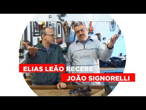 Elias recebe João Signorelli - Elias Leão