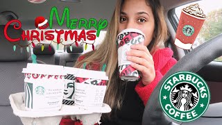 TRYING STARBUCKS HOLIDAY DRINKS 2019