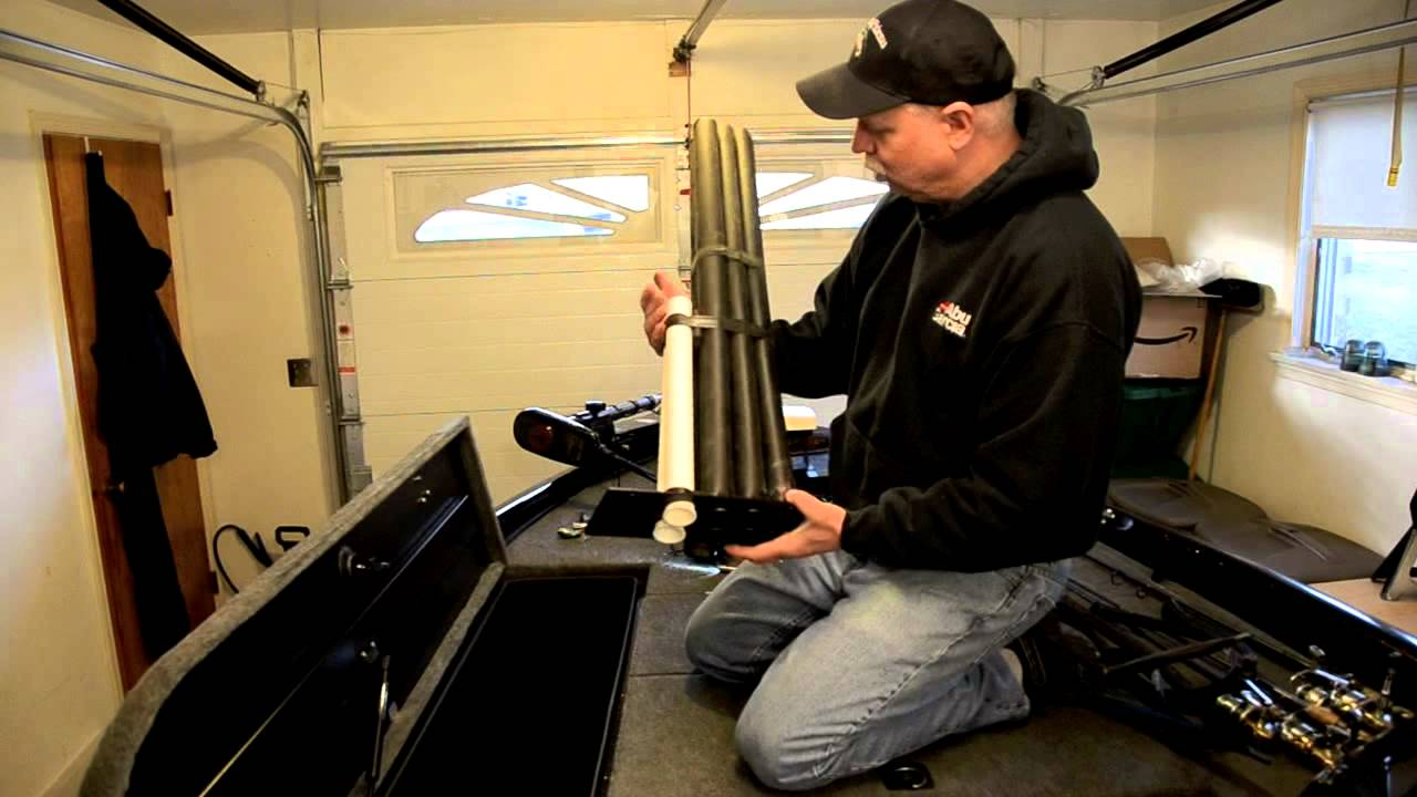 How To Modify Rod Storage On A Bass Boat