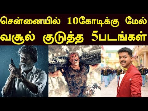 All Time Top 5 Chennai City Grossers |...