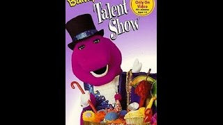 Opening Closing Barneys Talent Show Vhs
