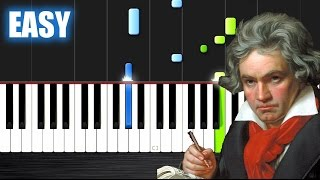 Beethoven - Fur Elise - EASY Piano Tutorial by PlutaX