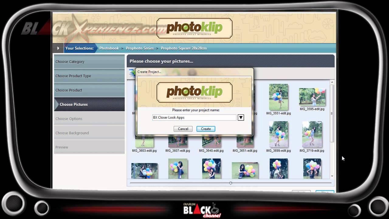 Software pembuat album foto digital 8