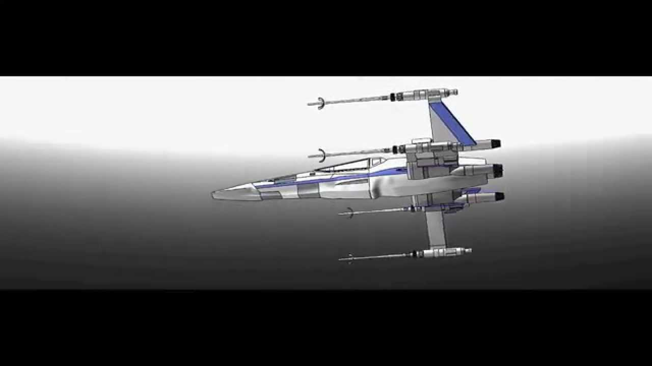 Uci mae52 final project t 70 x wing youtube uci mae52 final project t 70 x wing malvernweather Images