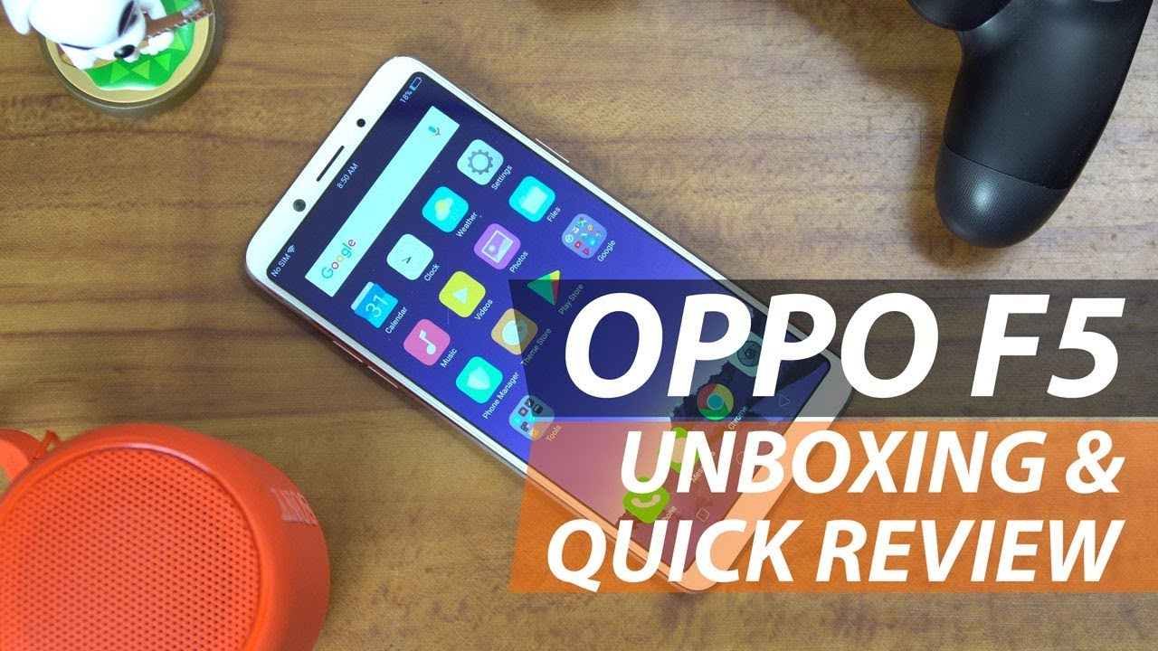 OPPO F5 Unboxing and Quick Review: A Smarter Selfie Expert