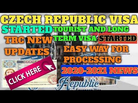Czech Republic Visa Updates November 2020 | Tourist Visa And Long Term Started | Czech Republic Trc