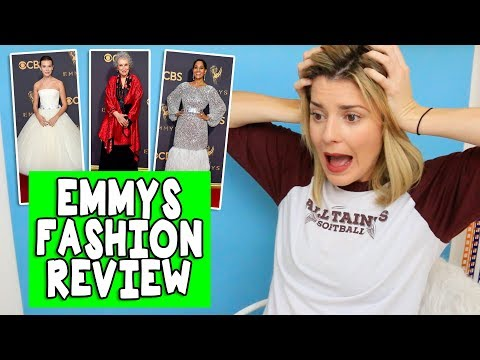 Download Youtube: EMMY FASHION REVIEW // Grace Helbig