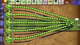 🎯99 Girl Gatling Pea vs 9999 Gargantuar vs Zombie Plants vs Zombies🎯890