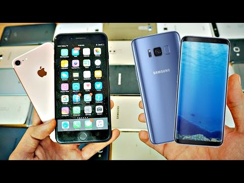 Samsung Galaxy S8 & S8+ vs iPhone 7 & 7 Plus Which Should You Buy? EARLY COMPARISON!