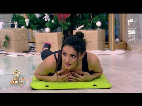 Fitness la Neatza! Exerciții pentru coloana vertebrală