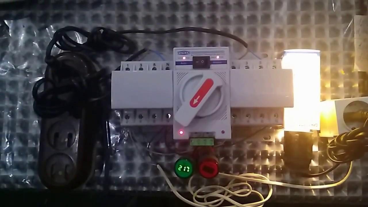 4 P 63a 380 V Schutzschalter Typ Dual Power Automatic Transfer Switch Ats Leistungsschalter