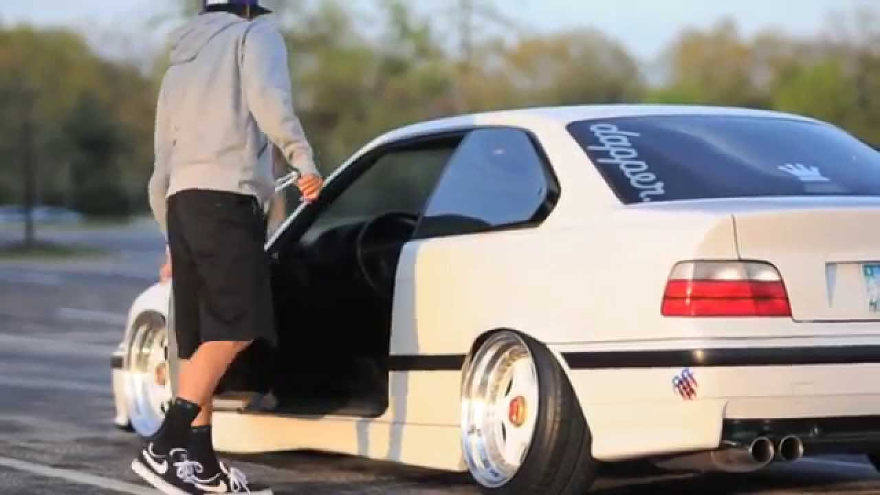 White Bmw E36 Coupe Youtube
