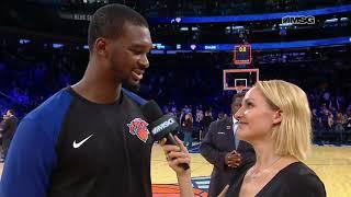 Noah Vonleh Goes Over Double-Double vs. Pelicans | New York Knicks | MSG Networks