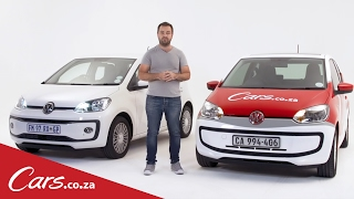VW up! vs up! New vs Old, Side by Side Comparison
