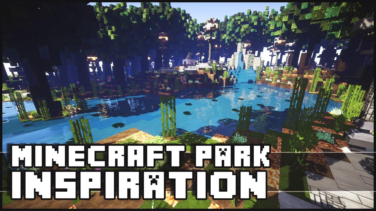 Minecraft Park Inspiration YouTube - Minecraft hauser verschonern