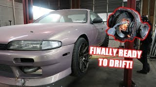 Welding The Diff On The S14!