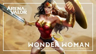 Wonder Woman: Hero Spotlight | Gameplay - Arena of Valor