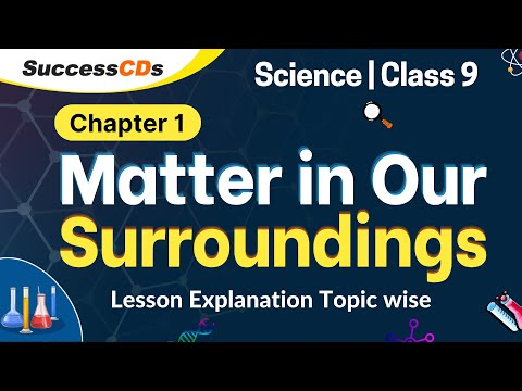 Matter in Our Surroundings Class 9 Chapter Explanation