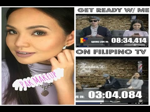 Tagalog GRWM: Chit-Chat| Guesting for Filipino Canadian TV Show
