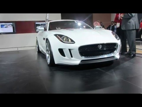 Jaguar C-X16 in India at Delhi Auto Expo 2012
