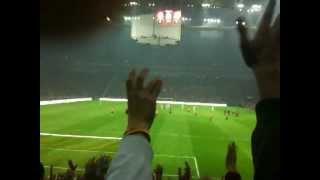 Türk Telekom Arena İlk Üçlü ( Açılış maçı - Maç Başlarken)