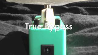 Mooer Green Mile overdrive pedal review video
