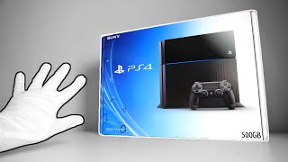 The PS4 Launch Console Unboxing in 2021... + Rare PlayStation 4 Press Kit