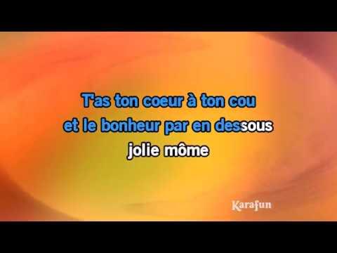 Karaoké Jolie Môme - Léo Ferré *